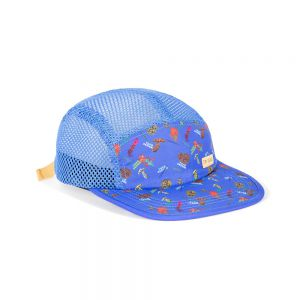 Topo Designs GLOBAL HAT FOREST BLUE