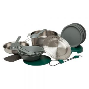 Stanley ADVENTURE BASE CAMP COOK SET STAINLESS STEEL