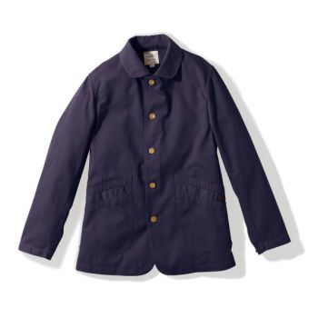 Gramicci MEN'S WORK JACKET DOUBLE NAVY