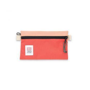 Topo Designs ACCESSORY BAGS SMALL PEACH