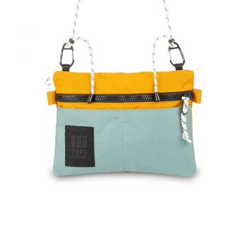Topo Designs CARABINER SHOULDER ACCESSORY BAG SAGE/MUSTARD