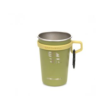 Earthwell 16oz LoopD Camp Cup - SEQUOIA PINE (Set 3 ชิ้น )