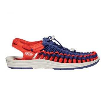 Keen WOMEN-UNEEK FLAT (BLUE DEPTHS/FIREY RED)
