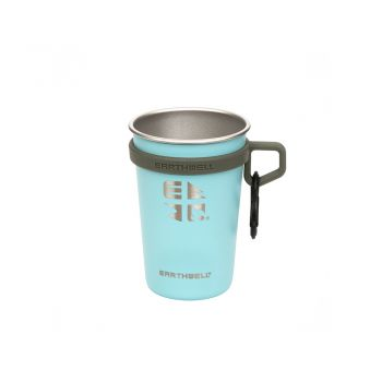 Earthwell 16oz LoopD Camp Cup - AQUA BLUE
