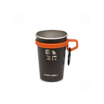 Earthwell 16oz LoopD Campcup - VOLCANIC BLACK (Set 3 ชิ้น )