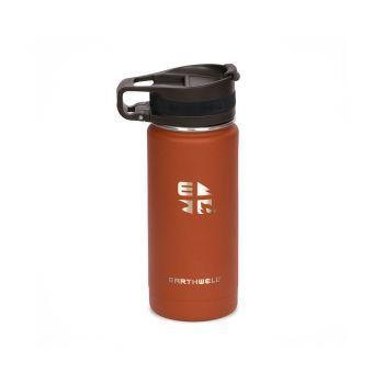 Earthwell 16oz VACUUM BOTTLE SIERRA RED - ROASTER LOOP CAP