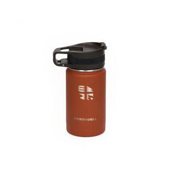 Earthwell 12oz VACUUM BOTTLE SIERRA RED - ROASTER LOOP CAP