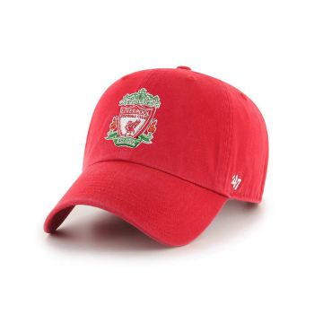 47 Brand OFFCIAL LOGO LIVERPOOL FC '47 CLEAN UP BLACK RED