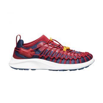 Keen MEN-UNEEK SNK SNEAKER (RED DAHLIA/BLACK IRIS)