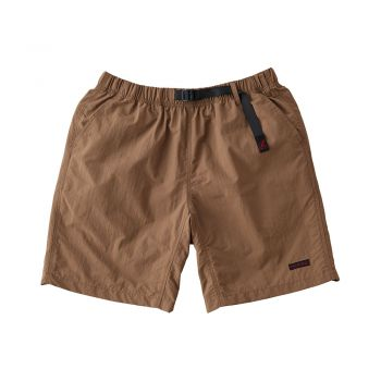 Gramicci UNISEX SHELL PACKABLE SHORTS TAN