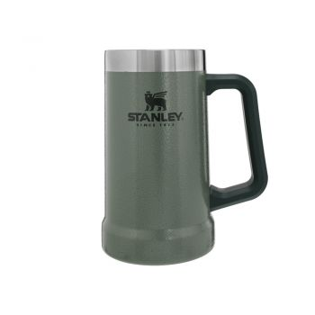 Stanley ADVENTURE BIG GRIP BEER STEIN 24OZ HAMMERTONE GREEN