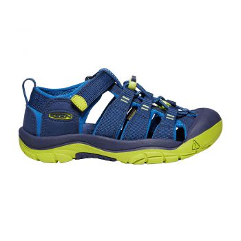 Keen YOUTH-NEWPORT H2 (BLUE DEPTHS/CHARTREUSE)
