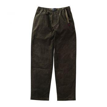 Gramicci MEN'S CORDUROY TUCK TAPERED PANTS OLIVE