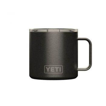 Yeti RRAMBLER 14 OZ MUG WITH STANDARD LID GRAPHITE (Limited edition)