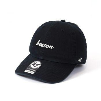 47 Brand CITY BOSTON BLACK 47 CLEAN UP