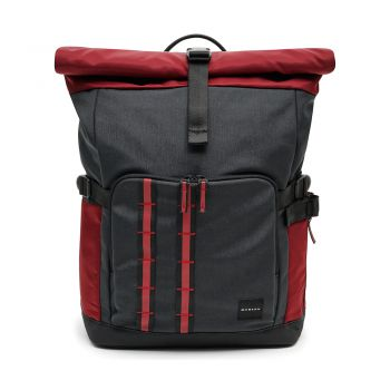 OAKLEY UTILITY ROLLED UP BACKPACK DULL ONYX