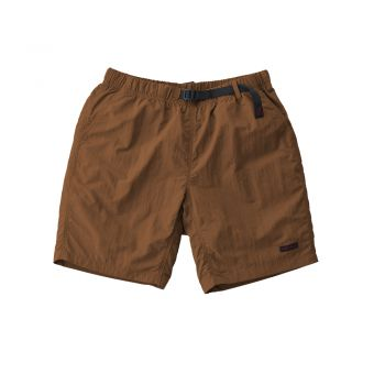 Gramicci UNISEX SHELL PACKABLE SHORTS MOCHA