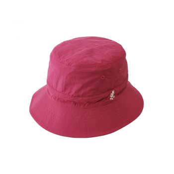 Gramicci SHELL REVERSIBLE HAT OLIVE x RASPBERRY