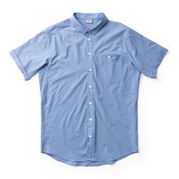 Houdini M'S SHORTSLEEVE SHIRT UP IN THE BLUE