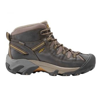 Keen MEN-TARGHEE II MID WP (BLACK OLIVE / YELLOW)