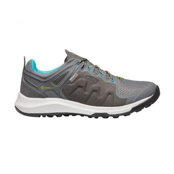Keen WOMEN-EXPLORE WP (STEEL GREY/BRIGHT TURQUOISE)