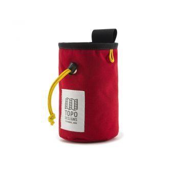 Topo designs CHALK BAG RED/BLACK