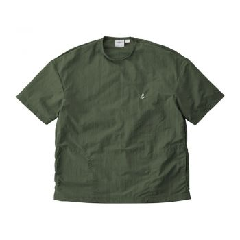 Gramicci UNISEX SHELL CAMP TEE OLIVE
