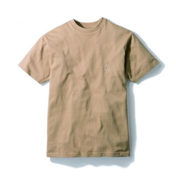 Gramicci MEN'S BIG RUNNINGMAN TEE BEIGE