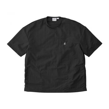 Gramicci UNISEX SHELL CAMP TEE BLACK