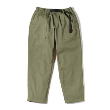 Gramicci UNISEX LOOSE TAPERED PANTS OLIVE