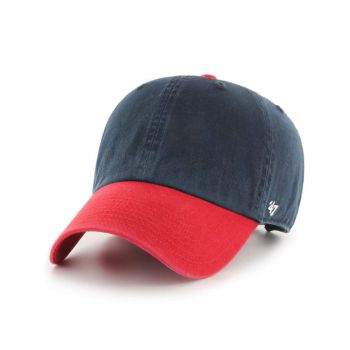 47 Brand 47 CLASSIC CLEAN UP BLANK TWO TONE NAVY/RED