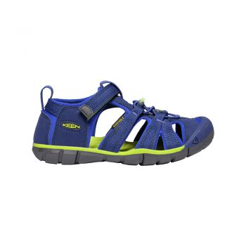 Keen YOUTH-SEACAMP II CNX (BLUE DEPTHS/CHARTREUSE)