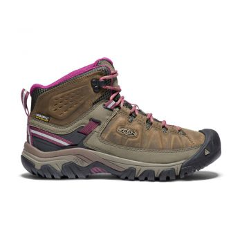 Keen WOMEN-TARGHEE III MID WP (WEISS/BOYSENBERRY)