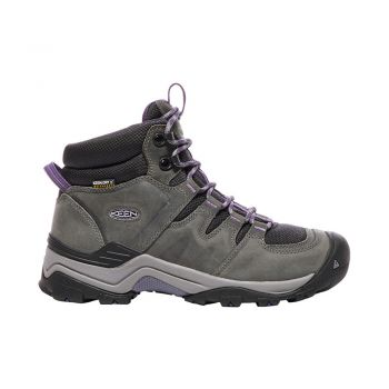 Keen WOMEN-GYPSUM II MID WP (EARL GREY/PURPLE PLUMERIA)