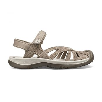Keen WOMEN-ROSE SANDAL (BRINDLE/SHITAKE)