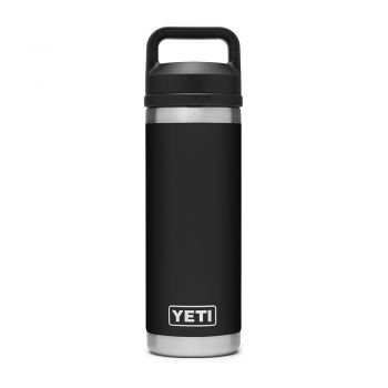 Yeti RAMBLER 18 OZ BOTTLE CHUG BLACK