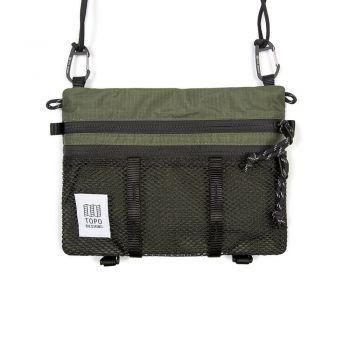 Topo Designs MOUNTAIN ACCESSORY SHOULDER BAG OLIVE